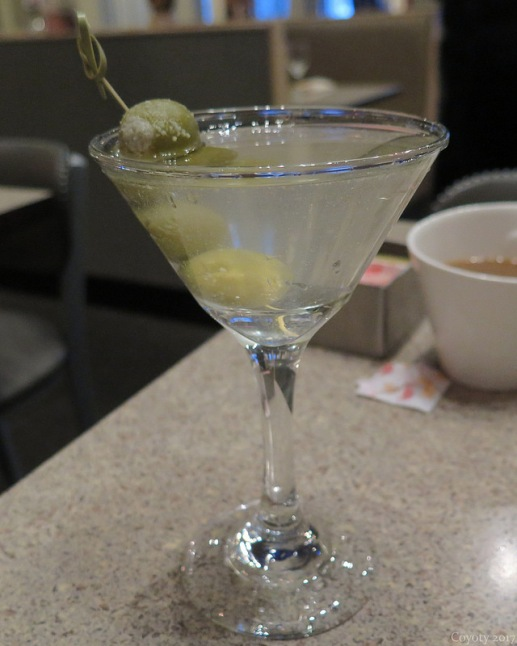 Dirty Asylum martini