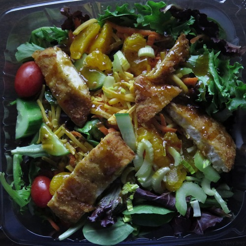 Square meal: Asian chicken salad