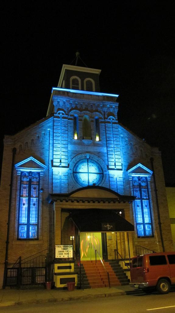 Altar Bar Blue