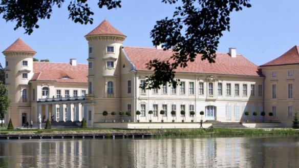 German castle Rheinsberg