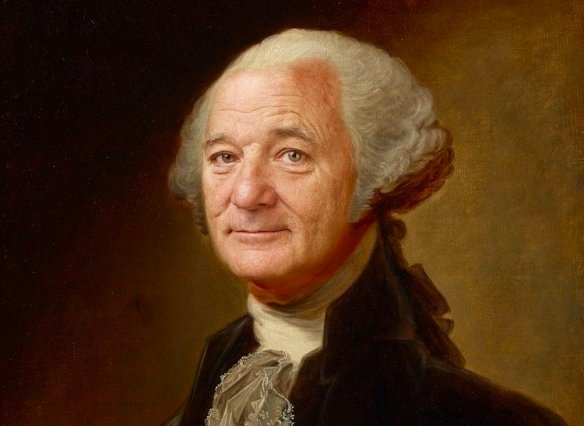 Artist Inserts Bill Murray's Face Into Famous Paintings, Wins The Internet